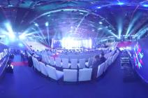 Filmare 360°: Ovidiu Anton – Moment of silence (Eurovision România 2016)