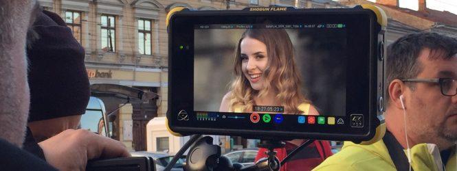 """Ilinca şi Alex Florea au filmat videoclipul piesei """"Yodel it!"""" la Cluj-Napoca"""