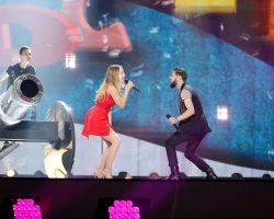 VIDEO: A doua sesiune de repetiţii pe scena Eurovision pentru Ilinca şi Alex Florea