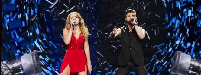 Ilinca şi Alex Florea, în această seară pe scena Eurovision